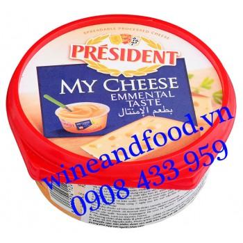 Phô mai phết My Cheese Emmental Taste Président 125g