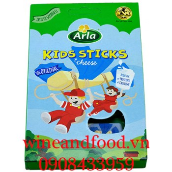 Phô mai que Arla Kids Sticks Cheese 108g