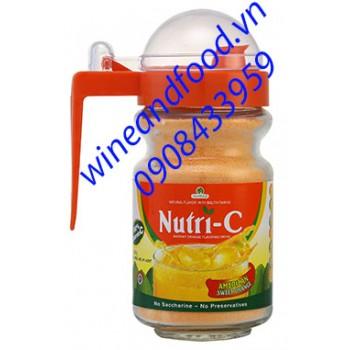 Bột Cam Nutri C hũ thủy tinh 350g