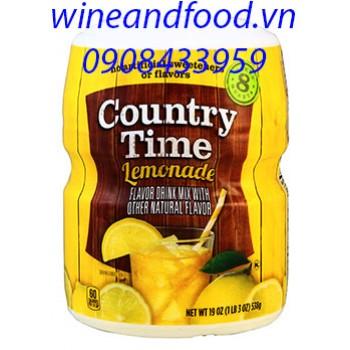 Bột pha nước chanh Country Time 538g