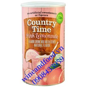 Bột trái cây Country Time Pink Lemonade 2kg33