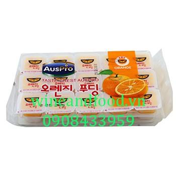 Thạch rau câu cam Hàn Quốc Auspro 480g