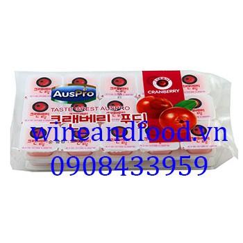 Thạch rau câu Cranberry Hàn Quốc Auspro 480g