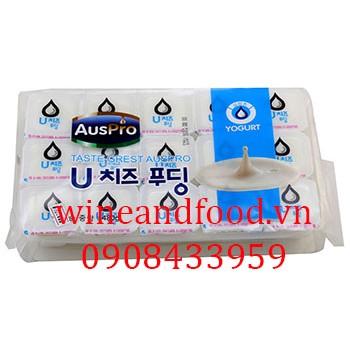 Thạch rau câu Yogurt Hàn Quốc Auspro 480g