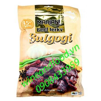 Khô bò Bulgogi Mariani 350g