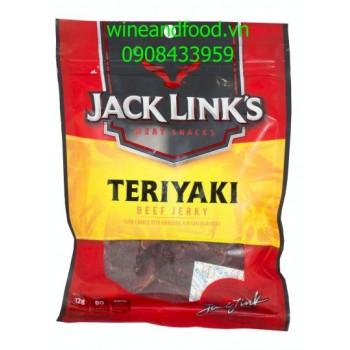 Khô bò Jack Ling's Teriyaki Beef Jerky 93g