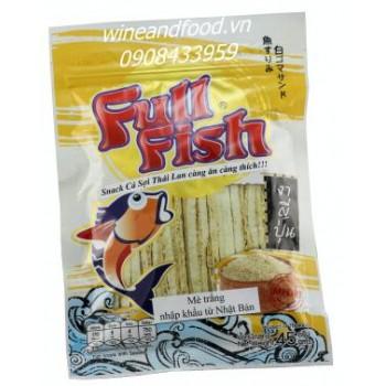 Snack cá Fullfish mè trắng 45g