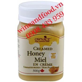Kem mật Ong Ownace Canada 500g