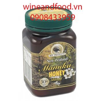 Mật ong New Zealand 30 cộng Manuka 500g