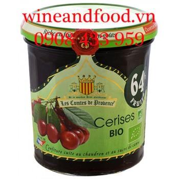 Mứt Cherry Cerises Les Comtes de Provence 350g