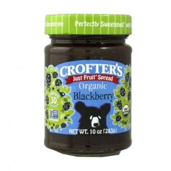 Mứt siêu sạch Crofter's Blackerry 238g