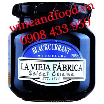 Mứt trái Blackcurrant La Vieja Fabrica 285g