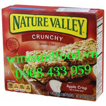 Bánh ngũ cốc ăn sáng Apple Crisp Nature Valley 253g