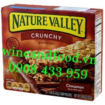 Bánh ngũ cốc ăn sáng Cinnamon Nature Valley 253g