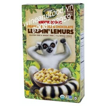 Bánh ngũ cốc bơ đậu phộng và socola Leapin Lemurs 284g