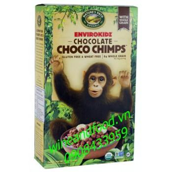 Bánh ngũ cốc socola Choco Chimps ăn sáng Nature's Path 284g