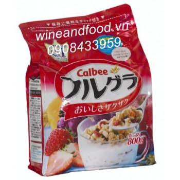 Bột ngũ cốc Nhật Bản Calbee 800g
