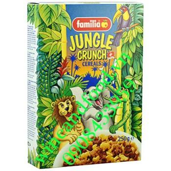 Ngũ cốc ăn sáng Jungle Crunch Familia 250g