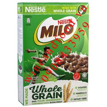 Ngũ cốc ăn sáng Milo Nestle nguyên cám 330g