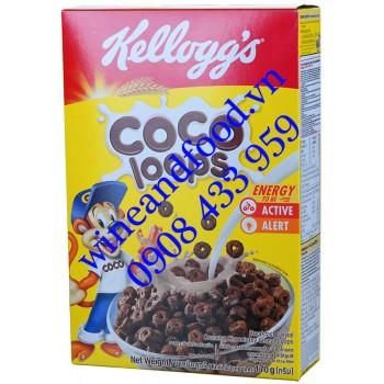Ngũ cốc Kellogg's Coco Loops 170g