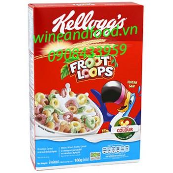Ngũ cốc Kellogg's Froot Loops 160g