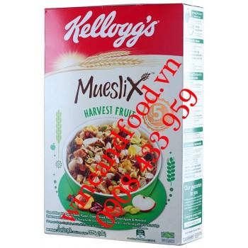 Ngũ cốc Mueslix Harvest Fruit Kellogg's 375g
