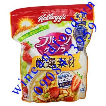 Ngũ cốc trái cây ăn sáng Kellogg's 500g