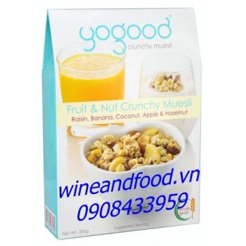 Ngũ cốc trái cây và hạt Yogood 350g
