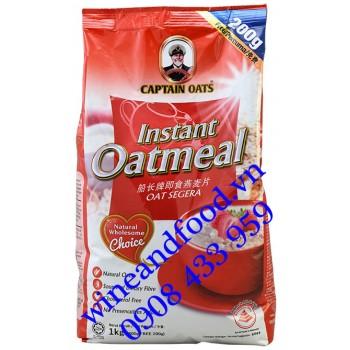 Yến mạch Instant Oatmeal Captain Oats bịch 1kg