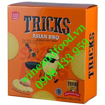 Bánh khoai tây chiên Asian BBQ Tricks 72g