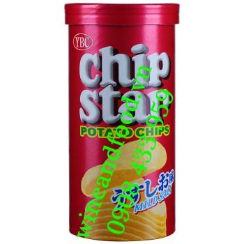 Bánh khoai tây chiên Chip Star Mild Salt YBC 50g