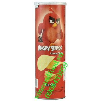 Khoai tây chiên Angry Birds vị muối biển 160g