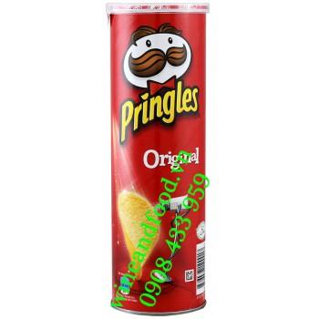 Khoai Tây lon Pringles Original 110g