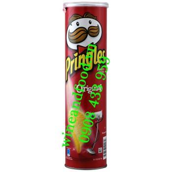 Khoai Tây lon Pringles Original 147g
