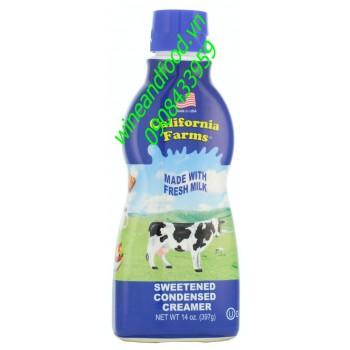 Sữa đặc có đường California Farms 397g