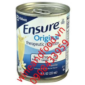 Sữa Ensure Original vanilla nước lon 237ml