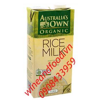 Sữa gạo Australia's Own 1l
