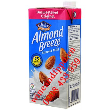 Sữa Hạnh Nhân Almond Breeze Blue Diamond 946ml