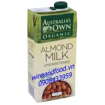 Sữa hạnh nhân không đường Australia's Own 1l