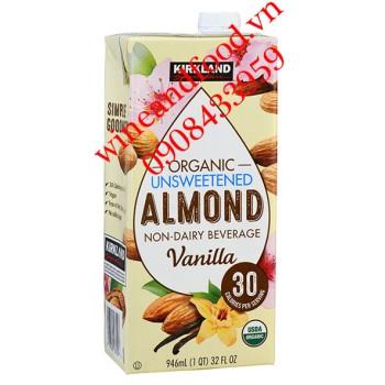 Sữa hạnh nhân Kirkland Organic Vani 946ml