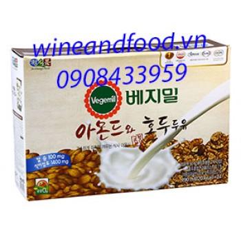 Sữa hạnh nhân óc chó Vegemil 24 túi
