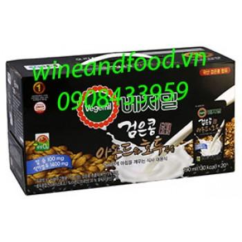 Sữa óc chó hạnh nhân đậu đen Vegemil ít đường 20 túi