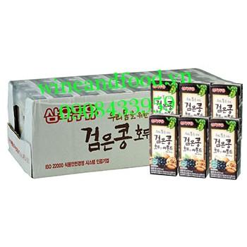 Sữa óc chó hạnh nhân Sam Yook lốc 24 hộp