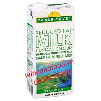 Sữa tươi ít béo canxi Table Cove 1l