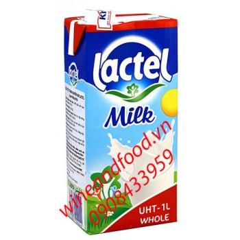 Sữa tươi Lactel tiệt trùng nguyên kem 1l