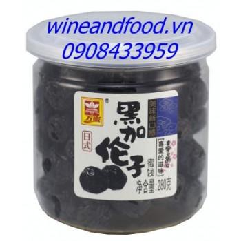 Xí muội Đài Loan blackcurrant mật ong 280g