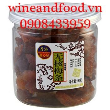 Xí muội mận không hạt Sweet House Đài Loan 190g