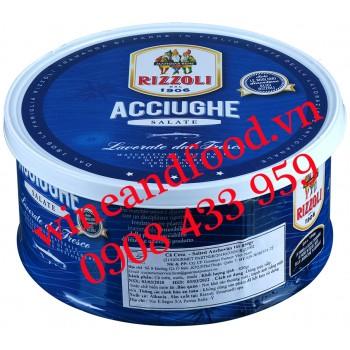 Cá cơm đóng hộp Acciughe Rizzoli 850g