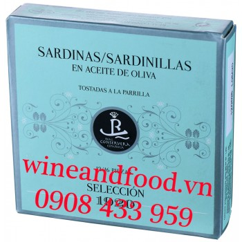 Cá mòi ngâm dầu Oliu Real Conservera Espanola 112g