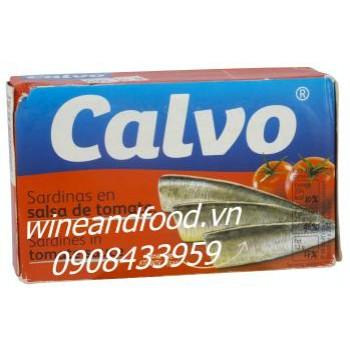 Cá mòi sốt cà chua Calvo 120g